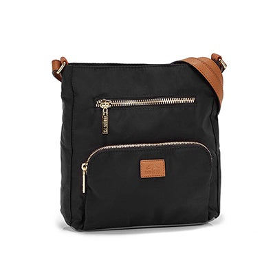Roots Women's R5327 black crossbody bag