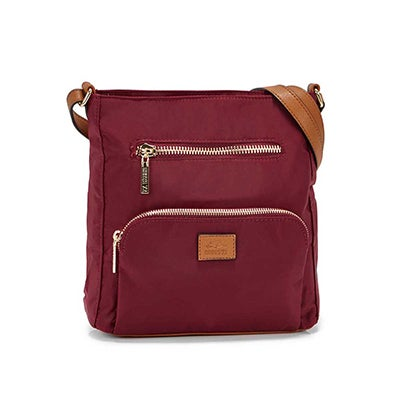 Roots Women's R5327 bordeaux crossbody bag