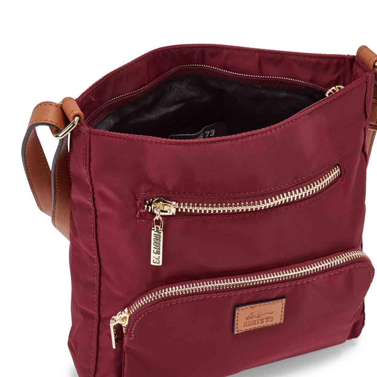 Lds Roots73 brd 2 front pocket crossbody