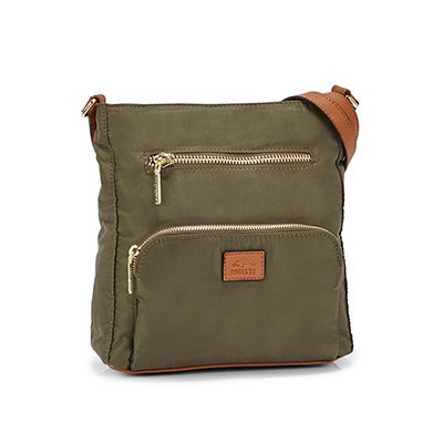 Roots Women's R5327 khaki crossbody bag