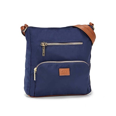 Roots Women's R5327 navy crossbody bag