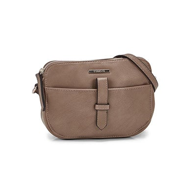 Roots Women's R5356 mocha mini crossbody bag