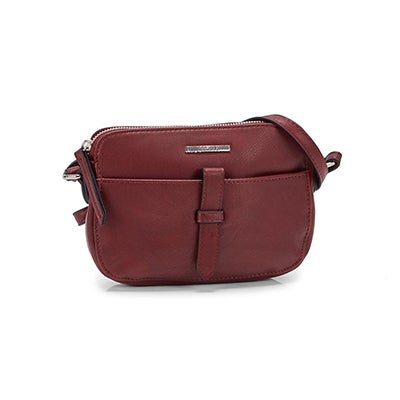 Roots Women's R5356 red mini crossbody bag