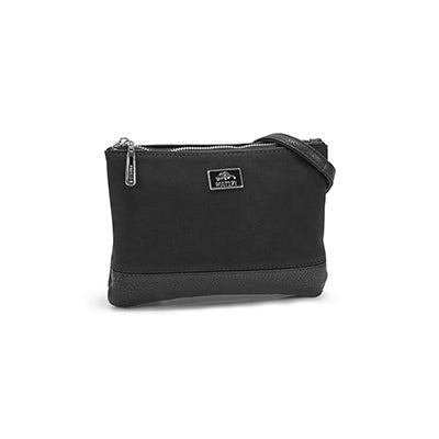 Roots Women's R5357 black crossbody bag