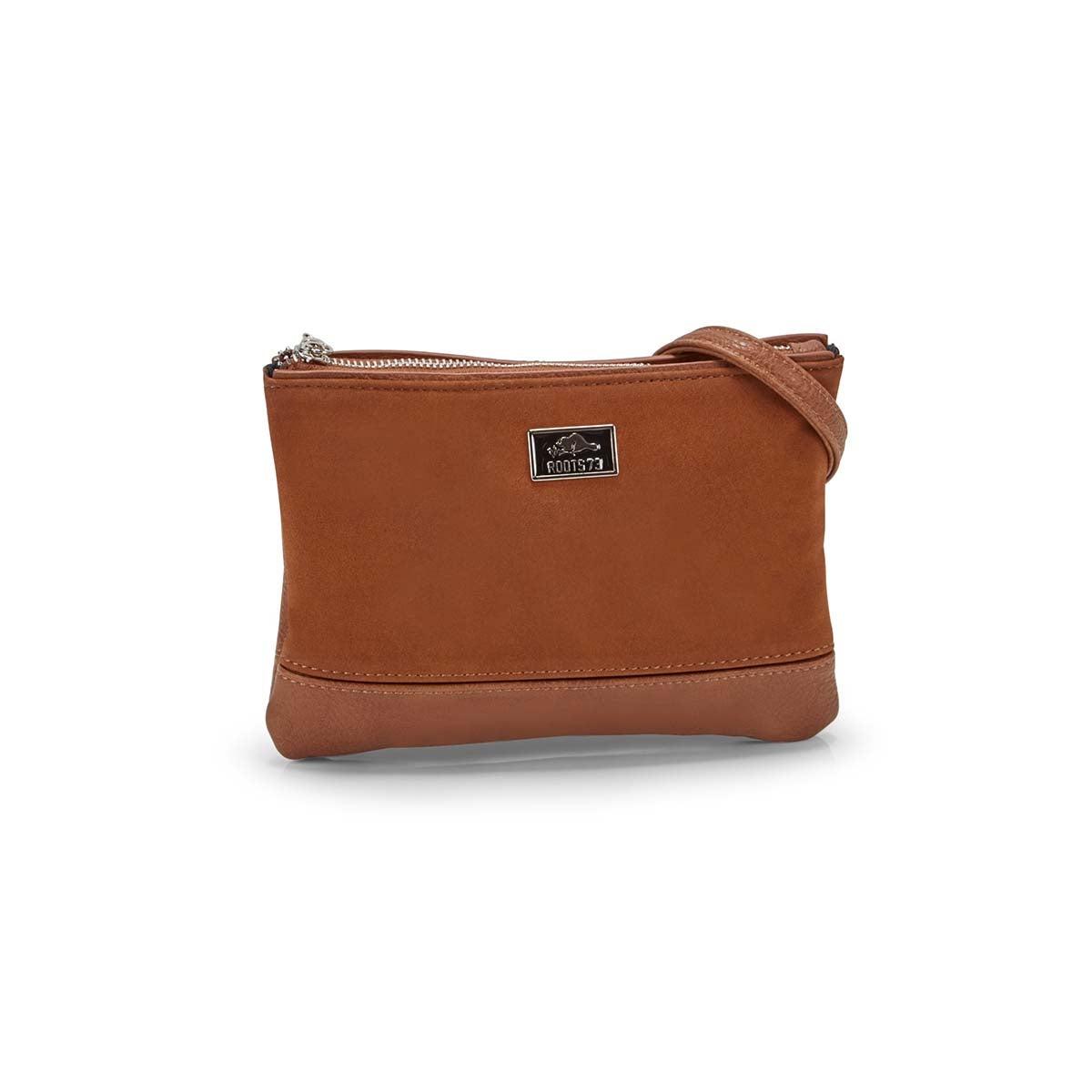Women's R5357 cognac crossbody bag