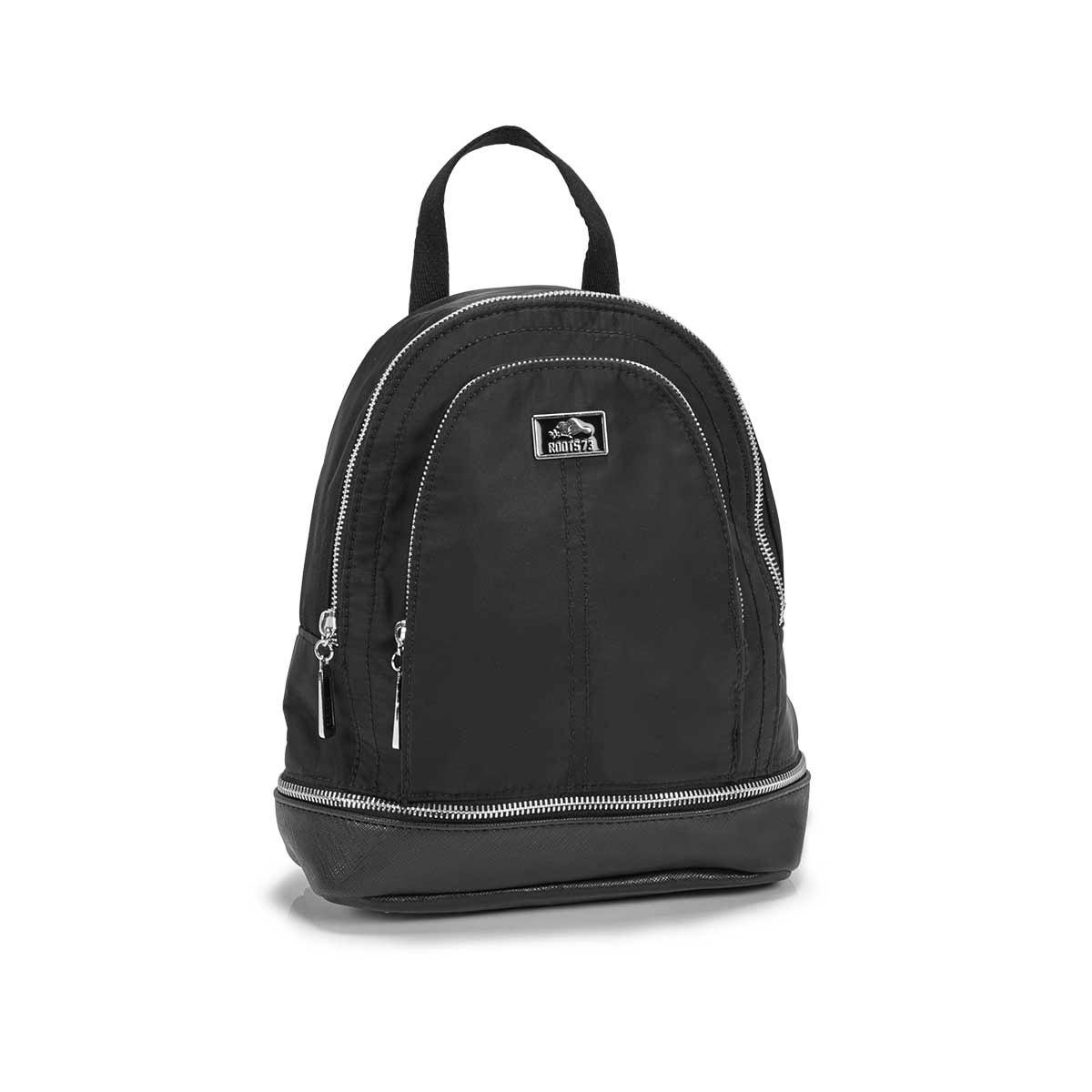 Women's R5401 black mini backpack