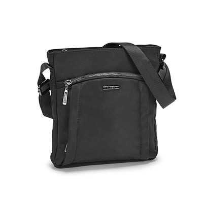 Roots Women's R5414 black north/south crossbody bag