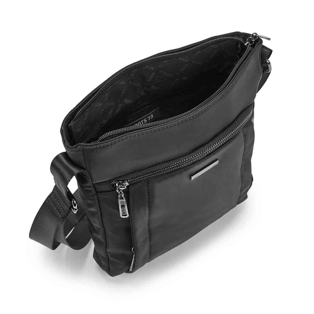 Lds Roots73 black north/south cross body