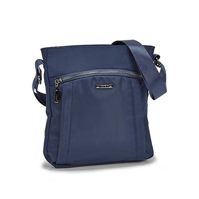 Roots Women's R5414 navy north/south crossbody bag