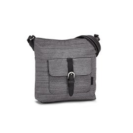 Roots Women's R5418 grey crossbody bag