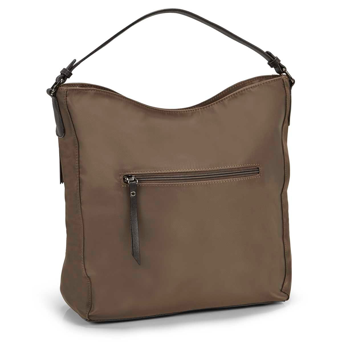 Lds Roots73mca vertical pockets hobo bag