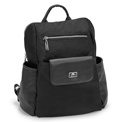 Roots Women's R5454 black 2 in 1 backpack
