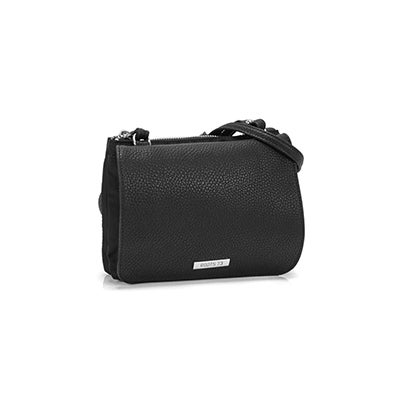 Roots Women`s R5456 black mini crossbody bag