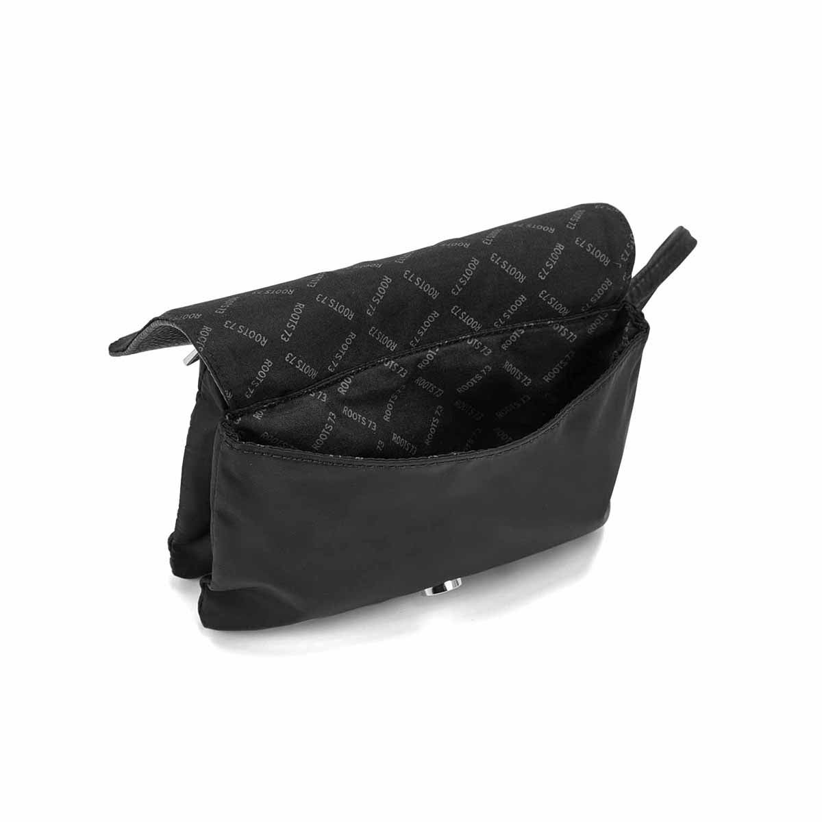 Lds Roots73 blk mini crossbody bag