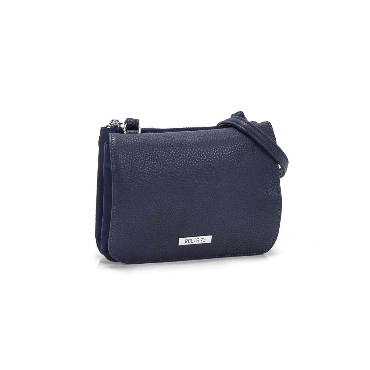 Women`s R5456 navy mini crossbody bag