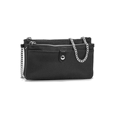 Roots Women's R5464 black mini shoulder bag