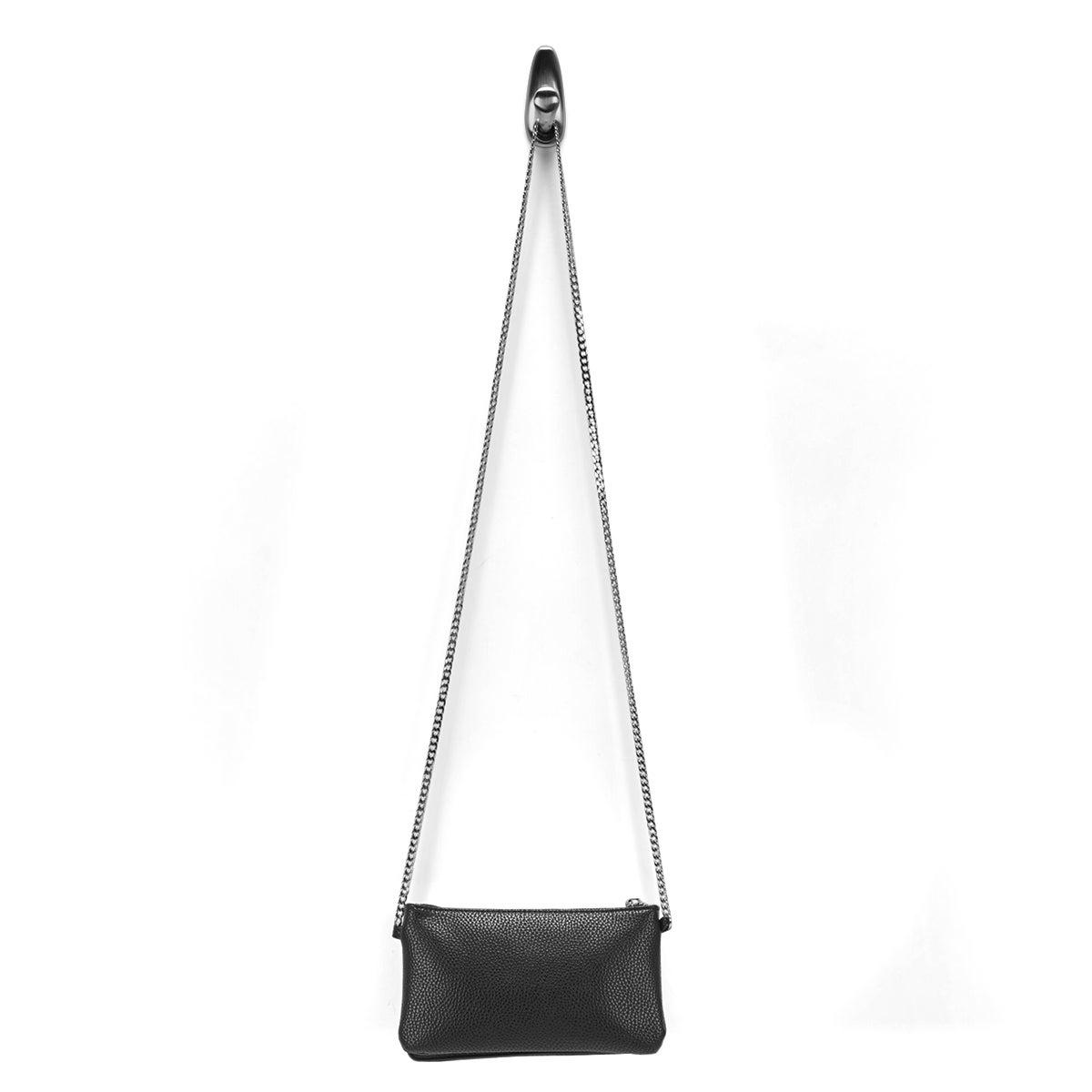 Lds Roots73 blk mini shoulder bag