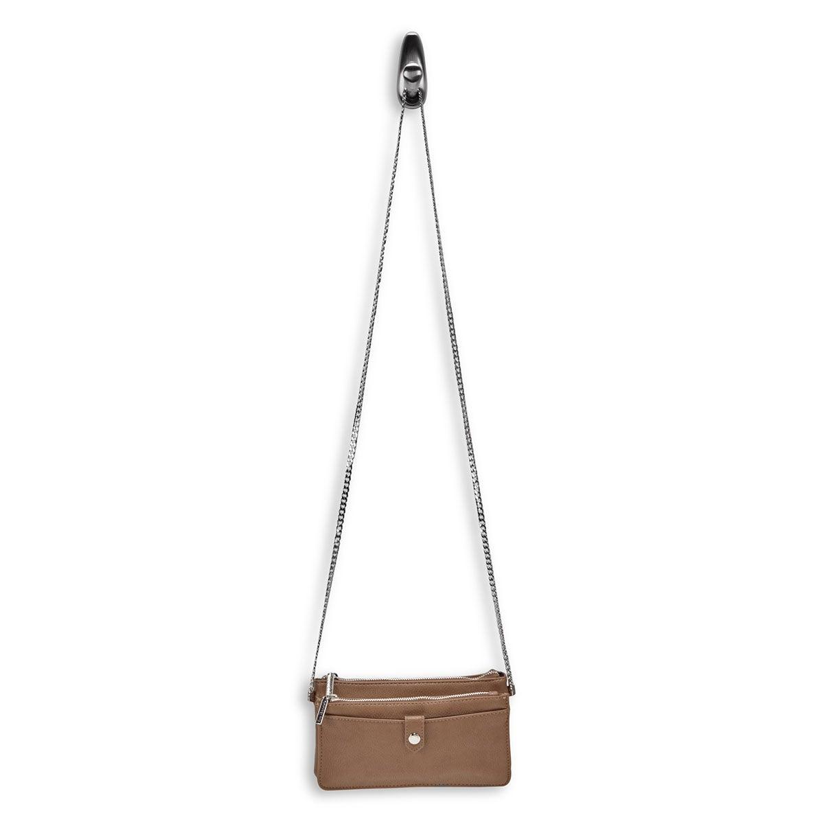 Lds Roots73 mocha mini shoulder bag