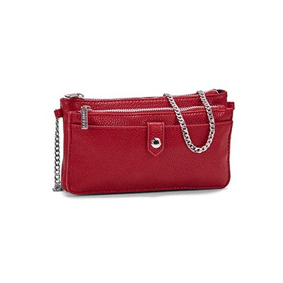 Roots Women's R5464 red mini shoulder bag