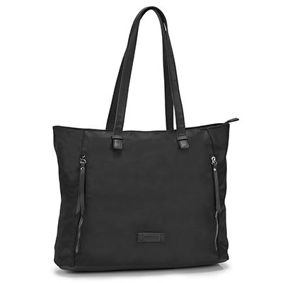 Roots Women's R5483 black large tote bag