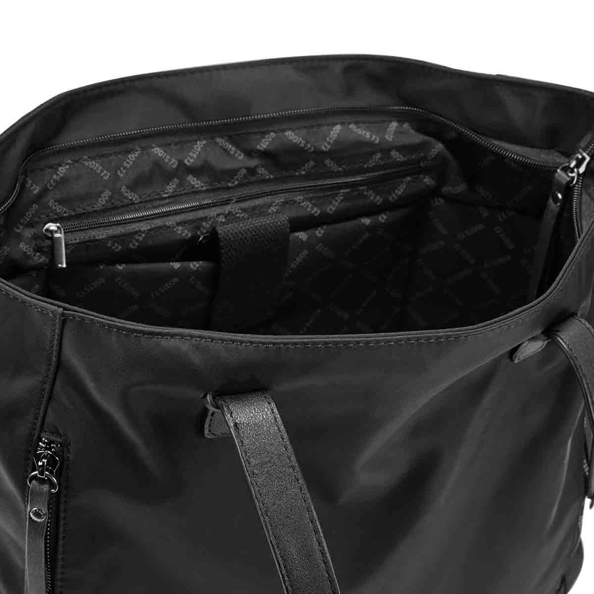 Lds Roots73 black large tote bag