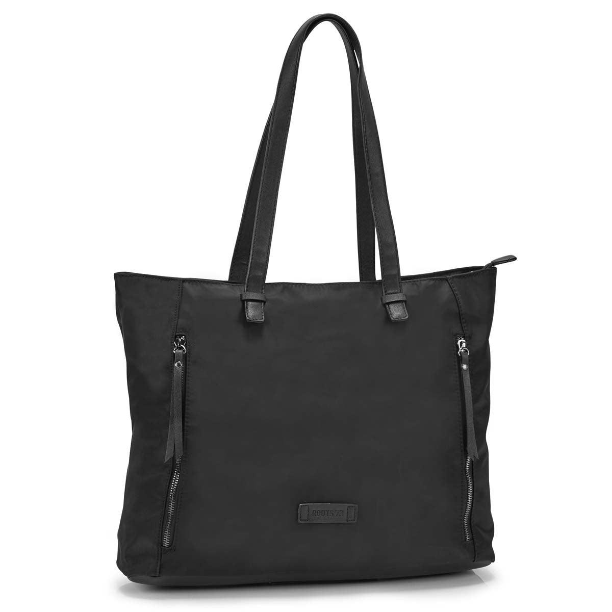 Women's R5483 black large tote bag