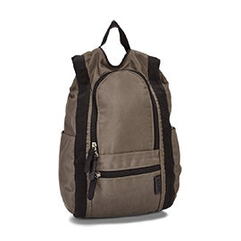 Roots73 khaki small reversible backpack