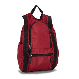 Roots Unisex R5511 red small reverisble backpack