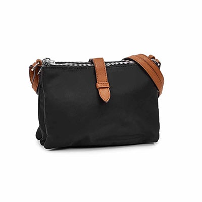Roots Women's R5520 black crossbody bag