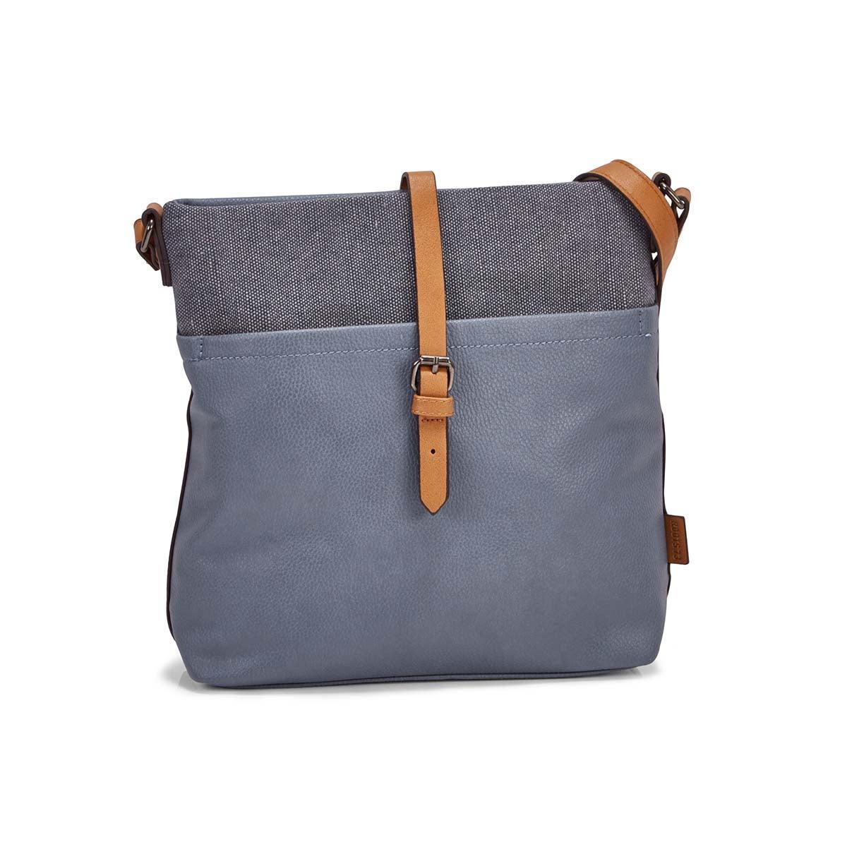 Women's R5530 NORTH/SOUTH light blue crossbody bag