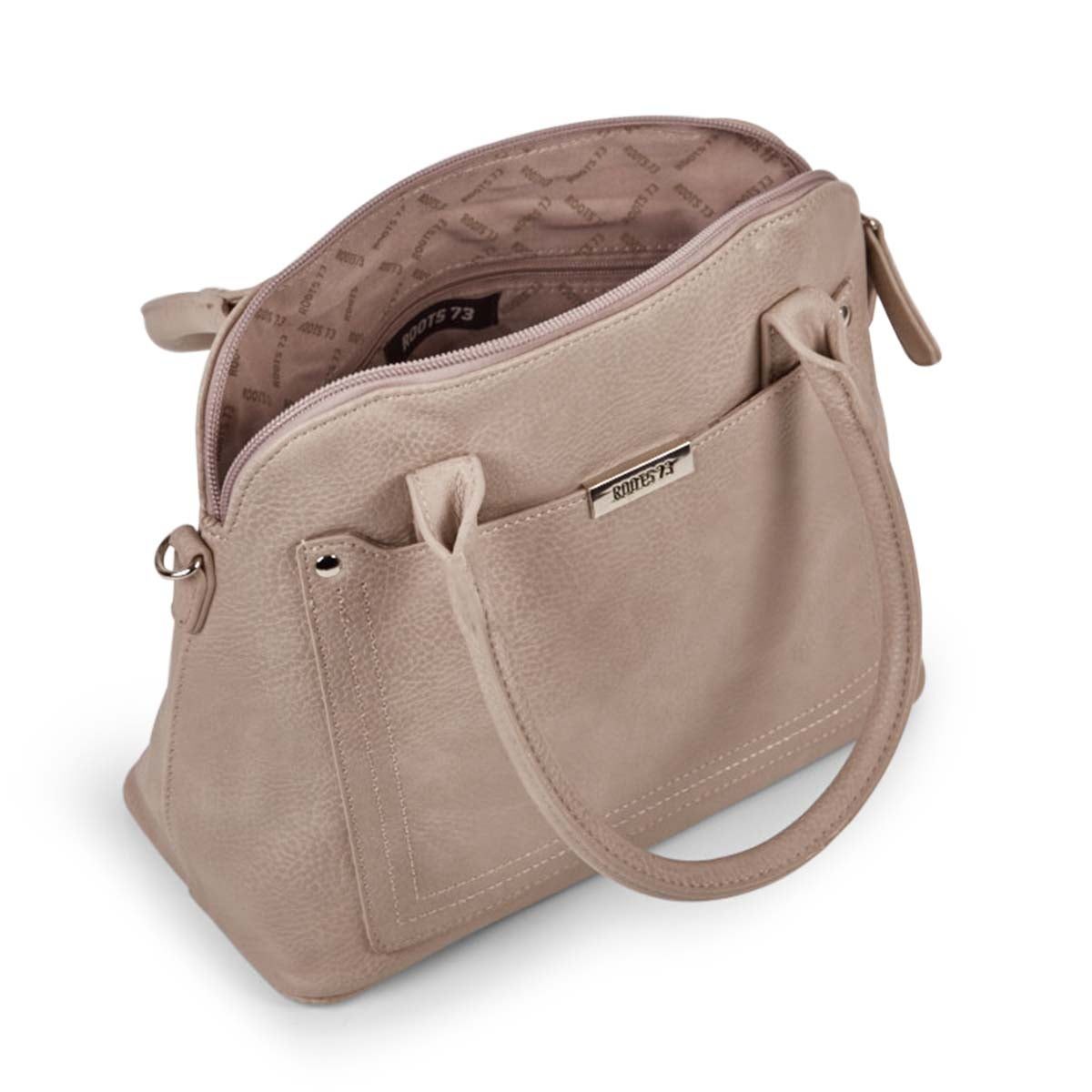 Lds Roots73 taupe satchel