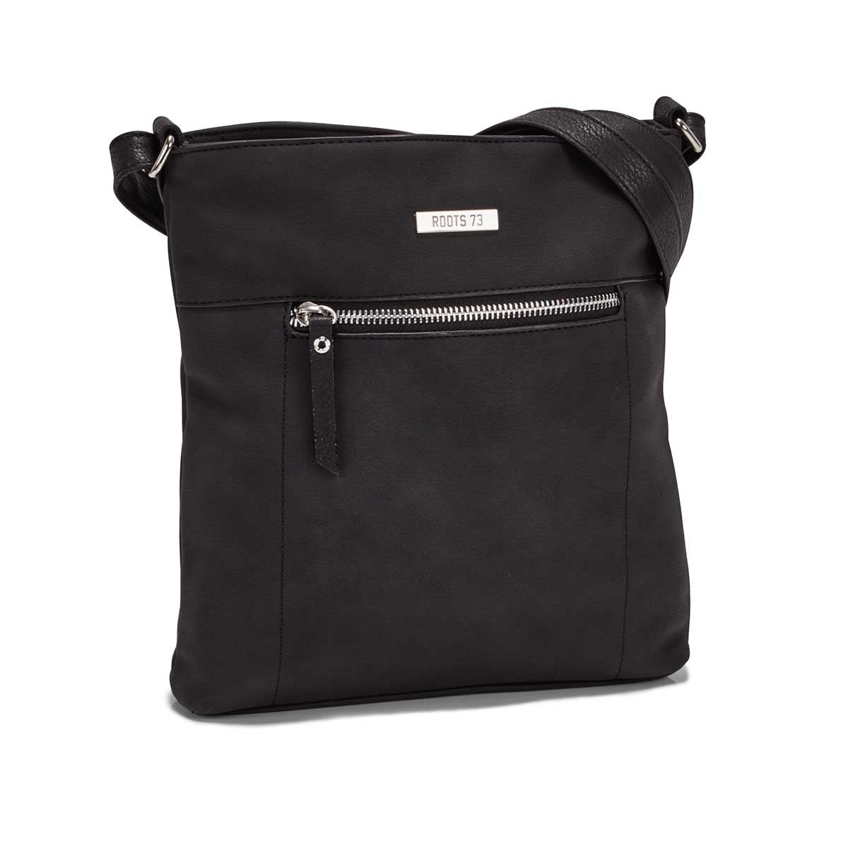 Women's R5547 NORTH/SOUTH black crossbody bag