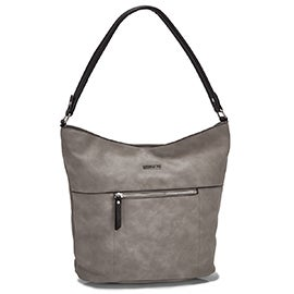 Roots Women's R5548 grey hobo bag
