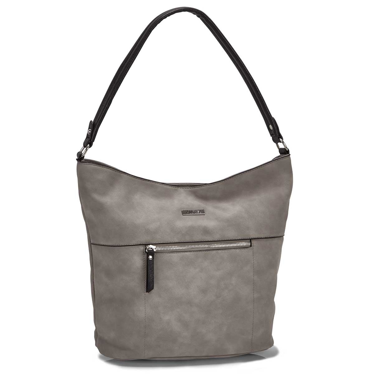 Women's R5548 grey hobo bag