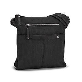 Roots Women's R5552 black crossdye crossbody bag