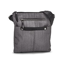 Roots Women's R5552 grey crossdye crossbody bag