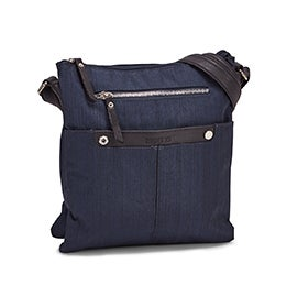 Roots Women's R5552 navy crossdye crossbody bag