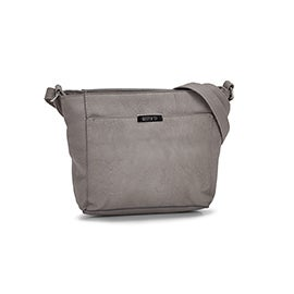 Roots Women's R5554 grey shoulder bag