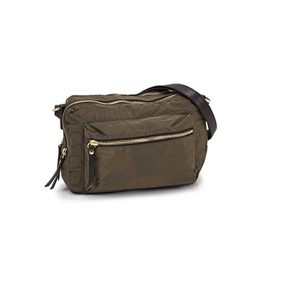 Roots Women's R5684 khaki crossbody bag