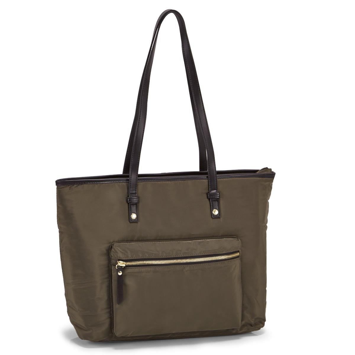 Lds Roots73 khaki large tote bag