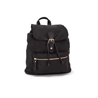 Roots Women's R5688 black mini backpack