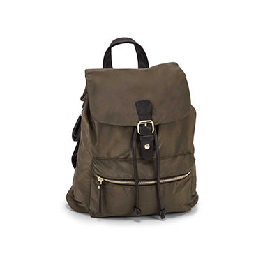 Roots Women's R5688 khaki mini backpack