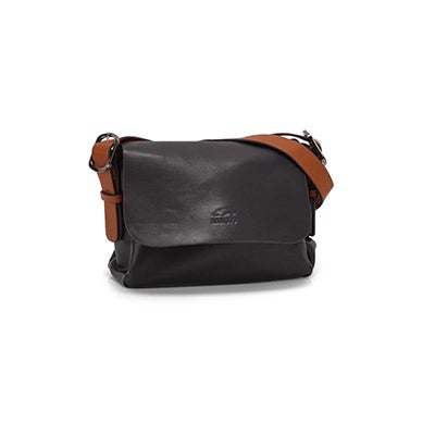 Roots Women's R5689 black mini crossbody bag