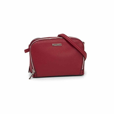 Roots Women's R5714 burgundy shoulder  bag