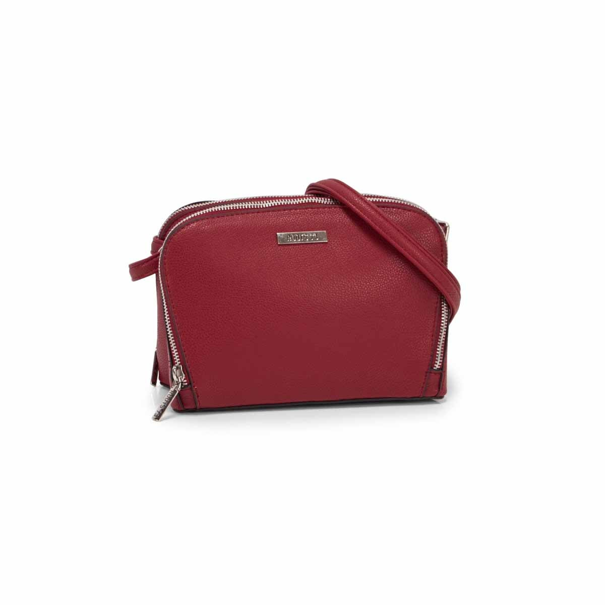 Lds Roots73 burgundy 2 compartment bag