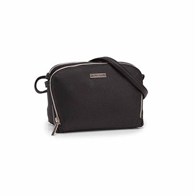 Roots Women's R5714 black shoulder  bag