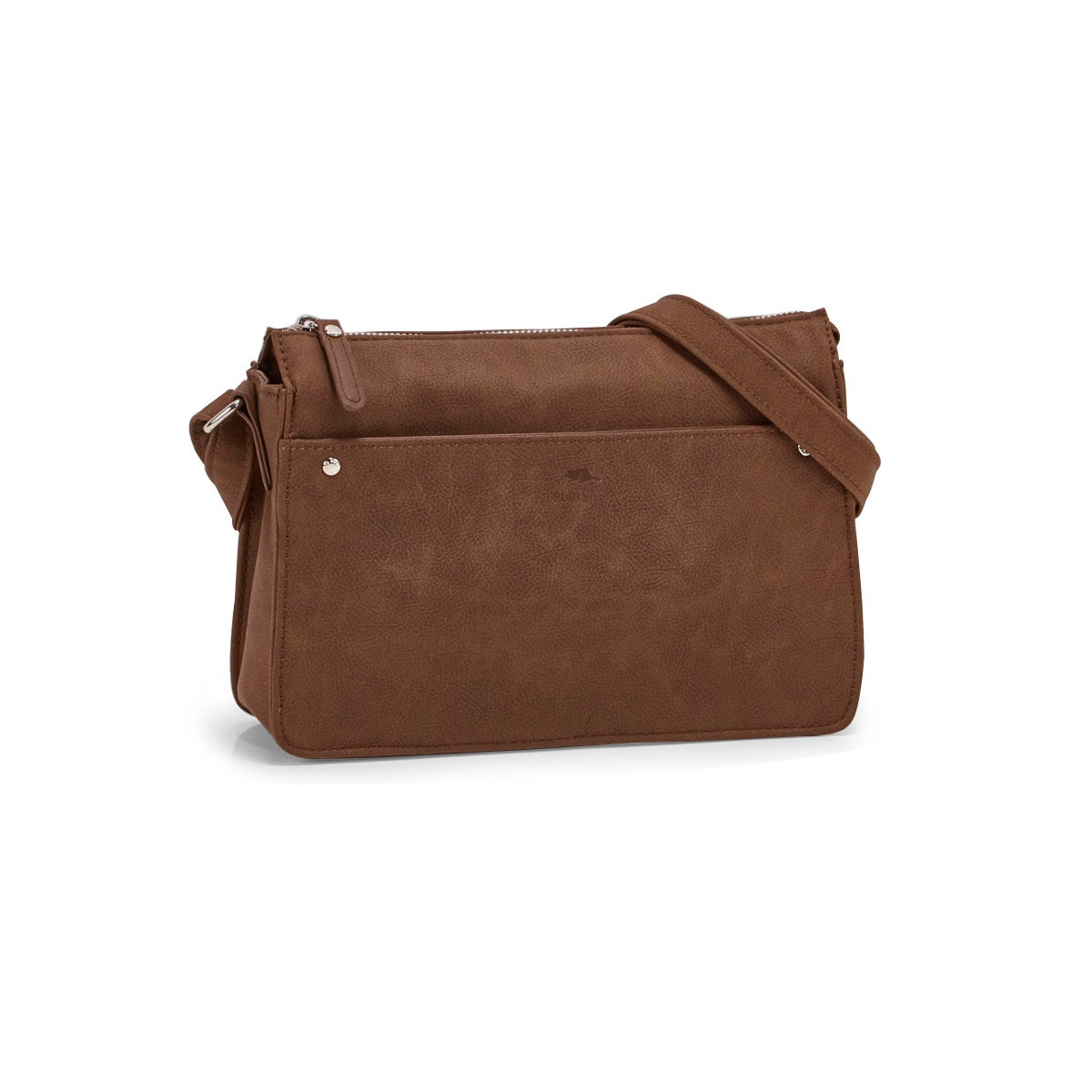 Lds Roots73 mocha east west crossbody