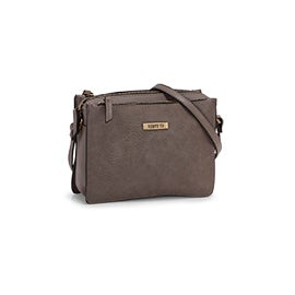 Roots Women's R5720 grey crossbody bag
