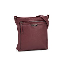 Roots Women's R5730 burgandy crossbody bag
