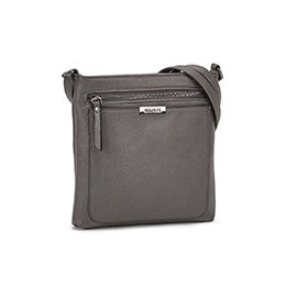 Roots Women's R5730 grey crossbody bag
